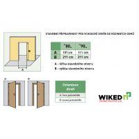 Vchodové dveře Wiked Thermo Prestige Lux - vzor 1