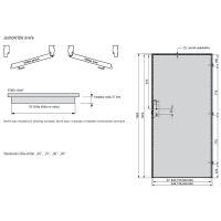 Interiérové dveře Vetro natura B, model Vetro natura B2