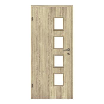 Interiérové dveře Alba, model Alba, prosklené 4/4