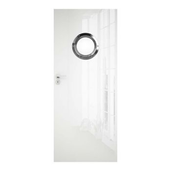 Interiérové dveře Silia, Silia s nerezovým okénkem