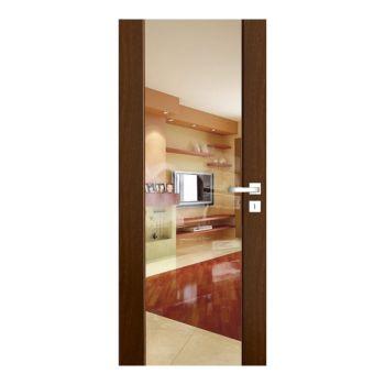 Interiérové dveře Ventura, model Ventura čiré sklo