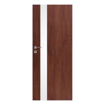 Interiérové dveře Vetro D, model Vetro D1 -  čiré sklo