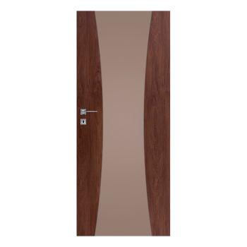 Interiérové dveře Vetro, model Vetro C1 - decormat bronz