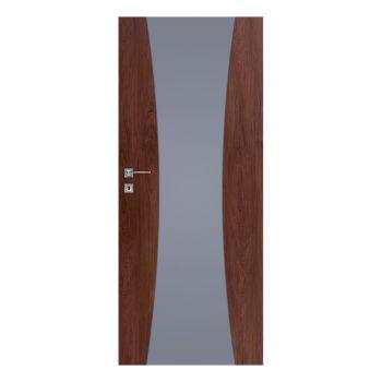 Interiérové dveře Vetro, model Vetro C1 - decormat grafit