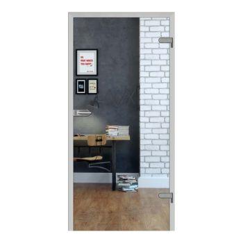 Skleněné dveře GALLA 1, čiré sklo