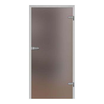 Skleněné dveře GALLA 1, decormat bronz