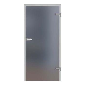 Skleněné dveře GALLA 1, decormat grafit