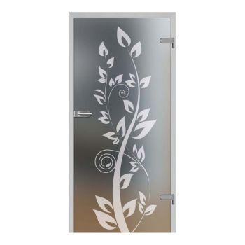 Skleněné dveře GALLA 12, decormat + vzor