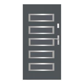 Vchodové dveře Wiked Normal - vzor 20 plné