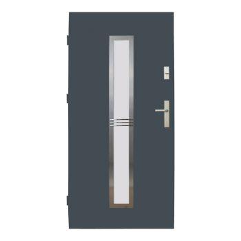 Vchodové dveře Wiked Optimum - vzor 12A prosklené