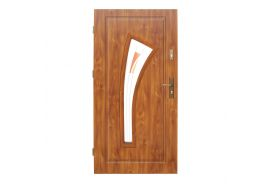 Vchodové dveře Wiked Optimum - vzor 17 prosklené