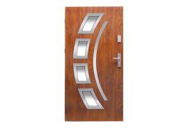 Vchodové dveře Wiked Optimum - vzor 21 prosklené