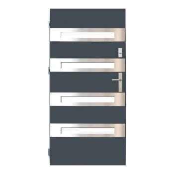 Vchodové dveře Wiked Optimum - vzor 35 prosklené