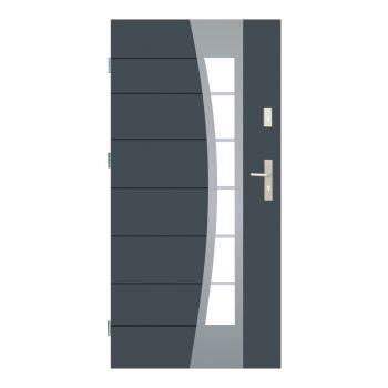 Vchodové dveře Wiked Optimum - vzor 37 prosklené