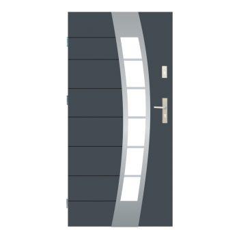 Vchodové dveře Wiked Optimum - vzor 38 prosklené