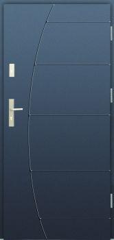 Vchodové dveře Wiked Premium - vzor 26G plné