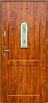 Vchodové dveře Wiked Premium - vzor 3 prosklené