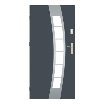 Vchodové dveře Wiked Premium - vzor 38A prosklené
