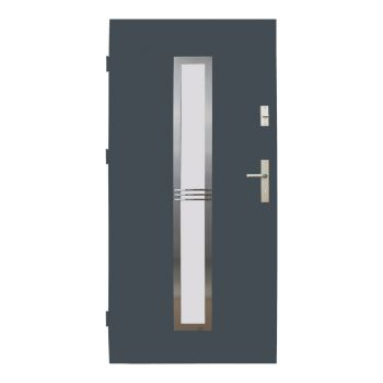 Vchodové dveře Wiked Thermo Prestige Lux - vzor 12A prosklené