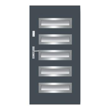 Vchodové dveře Wiked Thermo Prestige Lux - vzor 20 prosklené