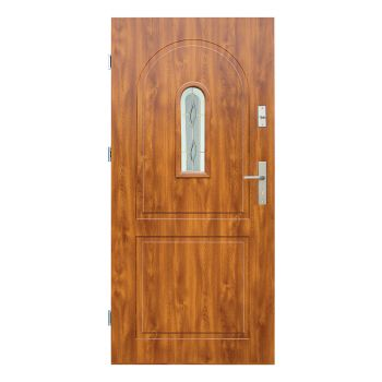 Vchodové dveře Wiked Thermo Prestige Lux - vzor 3 prosklené