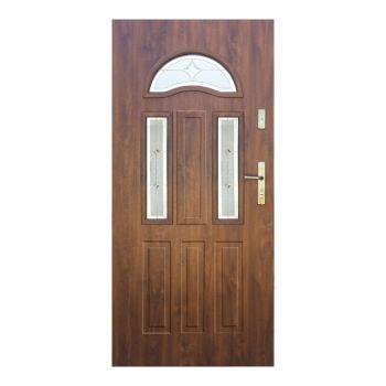 Vchodové dveře Wiked Thermo Prestige Lux - vzor 34A prosklené