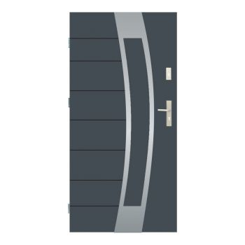 Vchodové dveře Wiked Thermo Prestige Lux - vzor 38 plné