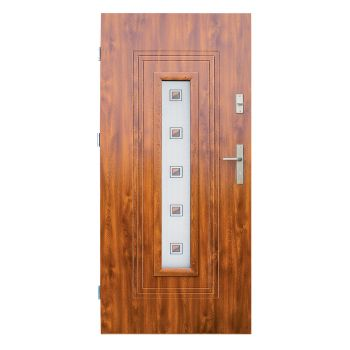 Vchodové dveře Wiked Thermo Prestige Lux - vzor 6 prosklené